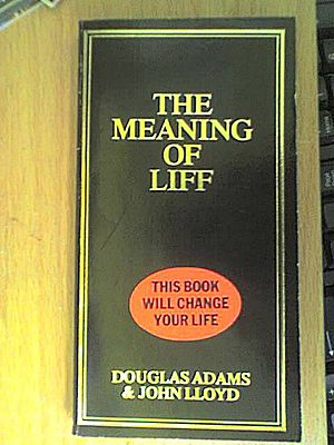 The first edition of The Meaning of Liff by Do...