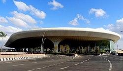 The view of Mumbai Airport's T2