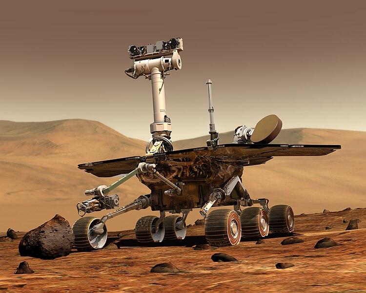 मंगल ग्रह पर स्प्रिट शोध वाहन