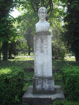 Română: Parcul Cişmigiu Bucureşti, Rotonda Scr...
