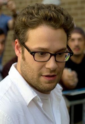English: Seth Rogen at the Toronto Internation...