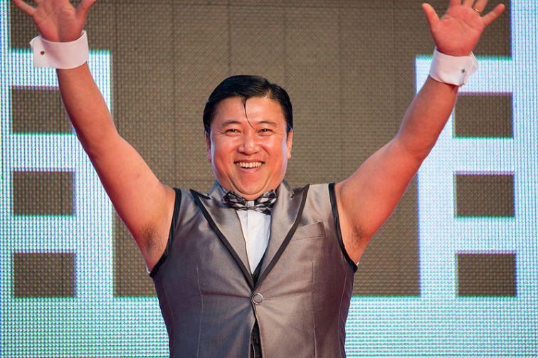 Sugichan comediante do japão