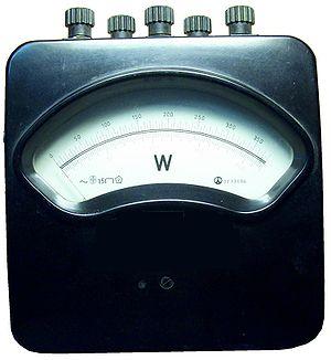 wattmeter powermeter