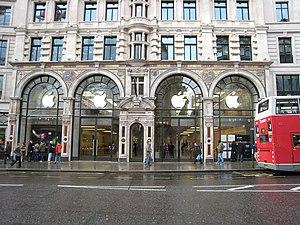 Apple Store in Regent Street, it was my first ...