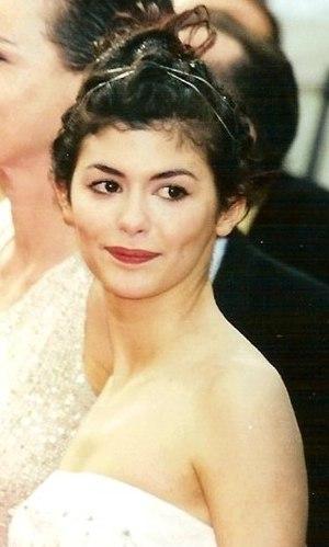 Français : Audrey Tautou au festival de Cannes