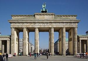 germany, Berlin, Brandenburg gate, westside