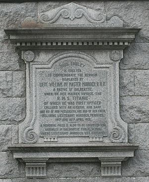 The memorial at Dalbeattie town hall to First ...