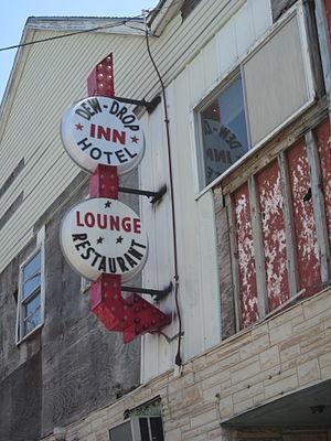 Dew Drop Inn building, LaSalle Street, New Orl...