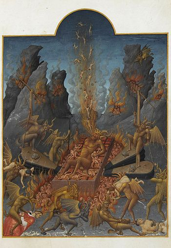 Lucifer - torturing souls as well as being tor...