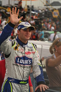 Jimmie Johnson in August 200...