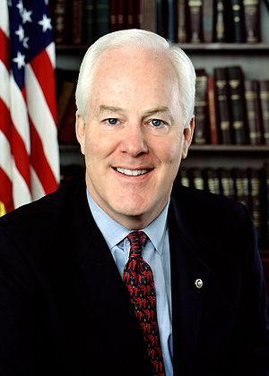 John Cornyn official portrait