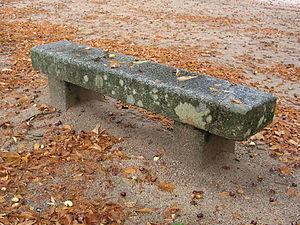 LaGranja park bench