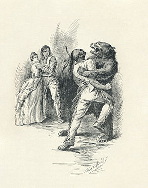 English: Bear Hug, The Last of the Mohicans, J...