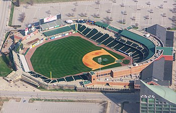 Home of the Louisville Bats, AAA minor league ...