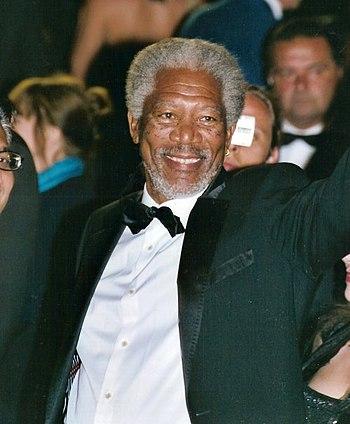 English: Morgan Freeman at the Cannes film fes...
