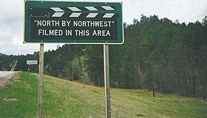 English: Sign near Mt. Rushmore, South Dakota,...