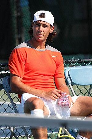 w:Rafael Nadal Listening to Uncle Toni's Advice.