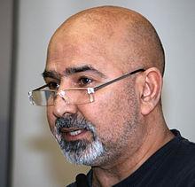 Bilde av Fredsinitativets leder, Reza Rezaee