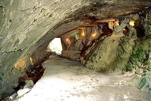 "The ""Cave of the Witches"" near Akela..."