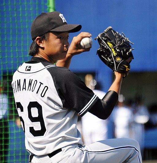 島本浩也投手