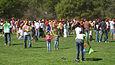 A celebration of Holi festival at Stanford University United States, 2009.jpg