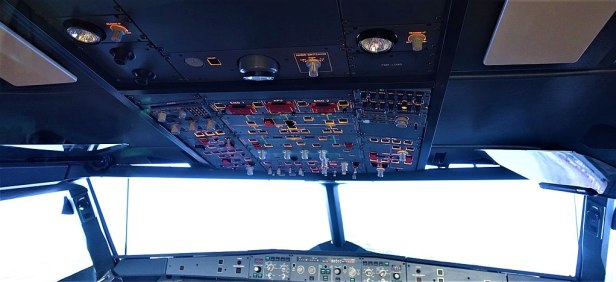 Airbus A320 Simulated Cockpit - www.joyofmuseums.com - National Air and Space Museum 2