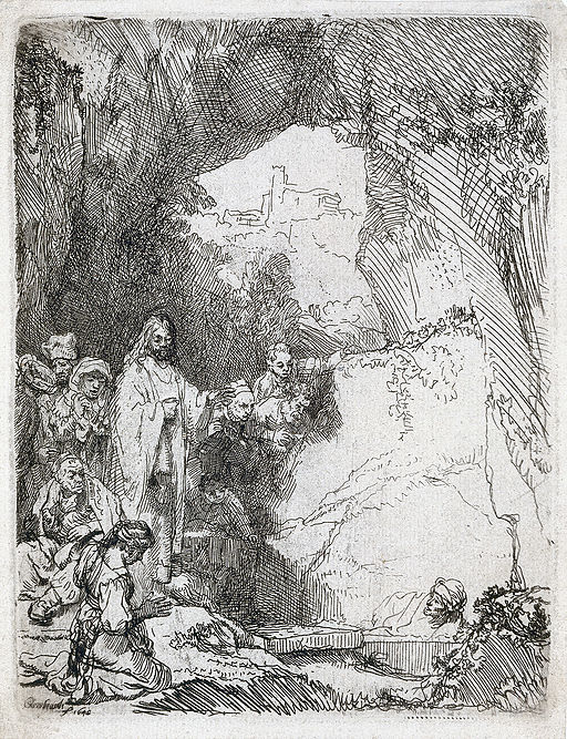 """The Raising of Lazarus"" by Rembrandt"