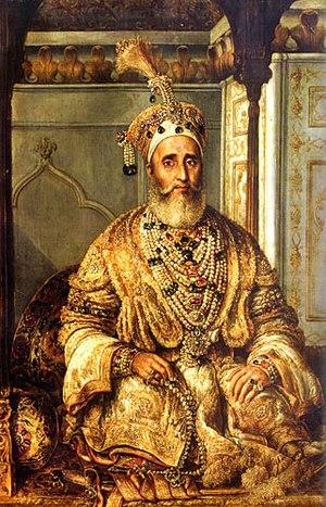 The last Mughul Emperor Bahadur Shah Zafar II