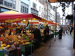 Berwick Street Market. (January 2006)
