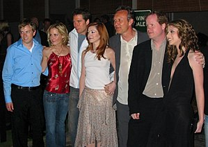 Buffy The Vampire Slayer cast at the wrap part...