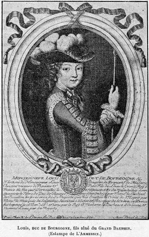 Cabanès, Éducation de Princes027 Louis, duc de Bourgogne, fils ainé du Grand Dauphin.jpg
