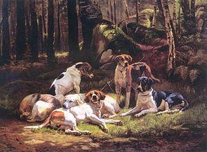 Carl Steffeck Hunde 1856