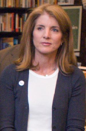 English: Caroline Kennedy at Barnes & Noble Tr...