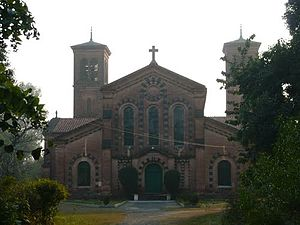 English: Church at Bareilly