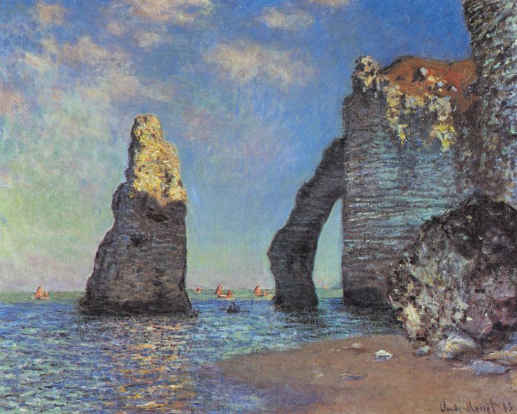 File:Claude Monet The Cliffs at Etretat.jpg