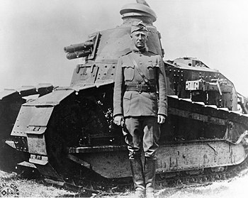 Lieut. Col. George S. Patton, Jr., 1st Tank Ba...
