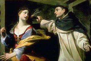 La tentazione di San Tommaso d'Aquino, Paintin...