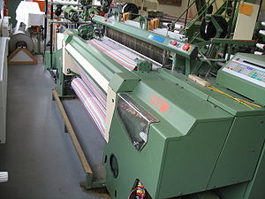 Rapier weaving machine (year of construction 1...