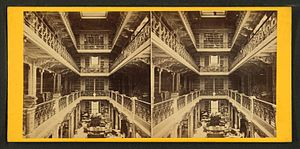 Interior Library of Congress, by G. D. Wakely