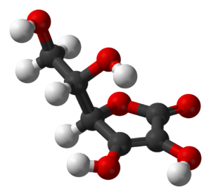 The structure of the antioxidant vitamin ascor...