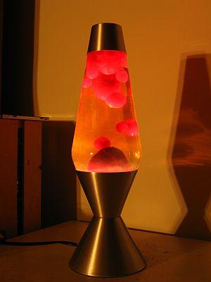 Lava Lamp Red