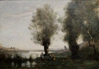 Le repos sous les saules 1865-1870 43,5 × 60,5 cm Musée des Ursulines de Mâcon