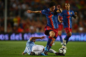 AUGUST 19, 2009 - Football : Lionel Messi of B...