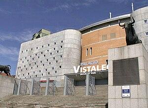 Español: Palacio Vistalegre. Entre la calle de...