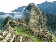 Machu Picchu, es hoy en d�a una de las Siete Maravillas del Mundo Moderno.