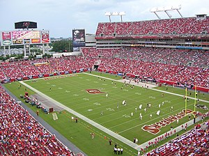 Raymond James Stadium, Tampa, Florida, USA
