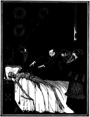 """Illustration for Edgar Allan Poe's """"The F..."""