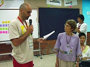 Enric Senabre Hidalgo at 2007 Citizen Journali...