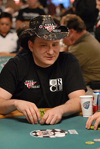 Andy Bloch at the 2007 World Series of Poker -...