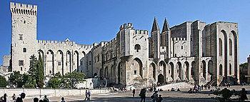 Avignon, Palais des Papes, France